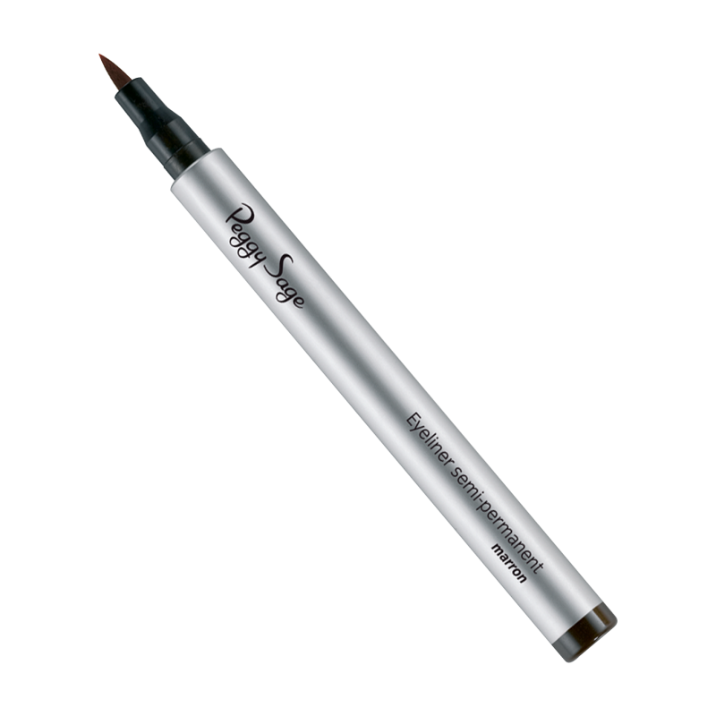 Eyeliner semi permanent marron