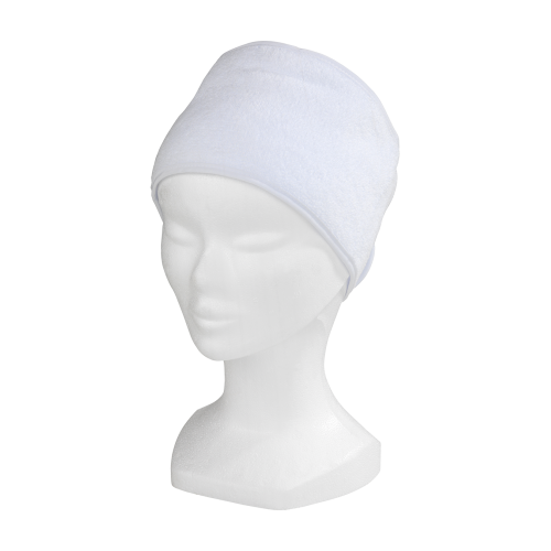 Bonnet turban blanc