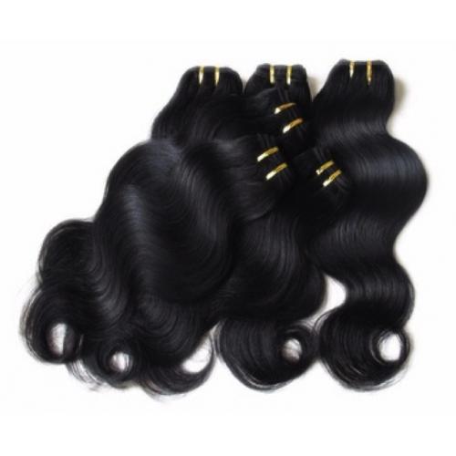 Extension Cheveux naturels de Brésilienne en forme de vague