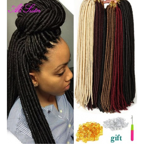 Extension cheveux synthétique dreadlocks