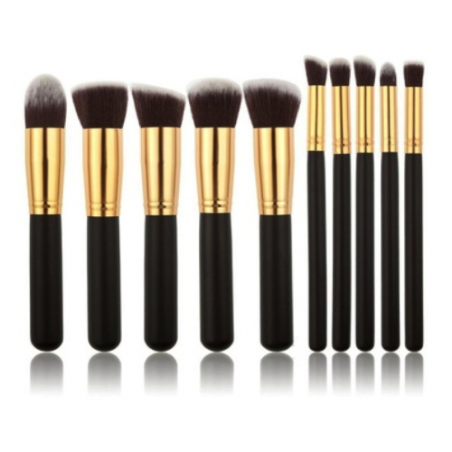 pinceaux maquillage lot de 10