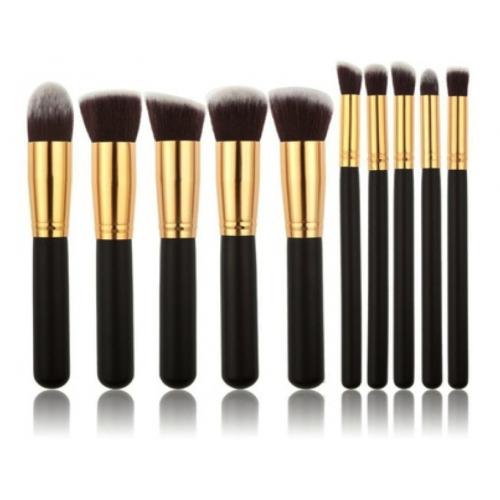 pinceaux maquillage lot de 10