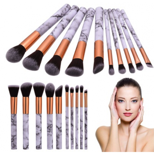 pinceaux marbré maquillage lot de 10